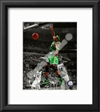 Paul Pierce 2010-11 Spotlight Action Framed Photographic Print
