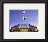 Cowboys Stadium Super Bowl XLV Framed Photographic Print