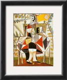 Femme Au Jardin Prints by Pablo Picasso