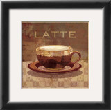 Latte Posters by Linda Maron