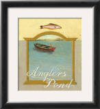 Angler's Pond Poster by Robert LaDuke