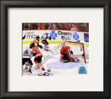 Patrick Kane Game Winning Goal 2009-10 Stanley Cup Finals Framed Photographic Print