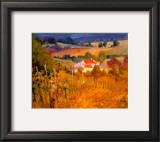 Vineyard Hill Prints by Philip Craig