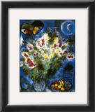 Still Life with Flowers Posters by Marc Chagall