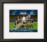Philadelphia Union 2010 Inaugural Game Team Framed Photographic Print
