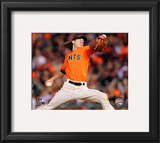Tim Lincecum 2010 Action Framed Photographic Print