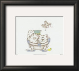Bathroom Cats IV Posters by A. Langston
