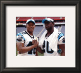 Stephen Davis and DeShaun Foster &#169;Photofile Framed Photographic Print