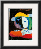 Femme au Balcon, c.1937 Poster by Pablo Picasso