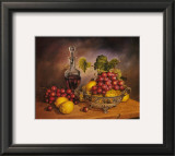 Grapes Display Print by J.R. Insaurralde