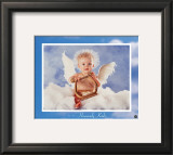 Heavenly Kids Harp Prints by Tom Arma