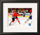 Patrick Sharp 2009-10 Playoff Framed Photographic Print