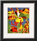 Personnages et Montagnes, c.1936 Prints by Joan Miró