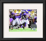 Michael Oher 2010 Action Framed Photographic Print