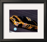 Matt Kenseth Car Shot - Side View Framed Photographic Print
