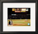 Nolan Ryan - 6th No Hitter Last Pitch Framed Photographic Print
