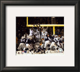 Adam Vinatieri - Game Winning Field Goal 2001 Divisional Playoffs vs. Raiders Framed Photographic Print