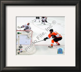 Claude Giroux Game Four of the 2010 NHL Stanley Cup Finals Goal Framed Photographic Print