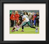 Brent Celek 2010 Action Framed Photographic Print