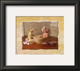 Baby in Bathtub Print by Lisa Jane