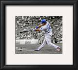 Andre Ethier 2010 Spotlight Action Framed Photographic Print