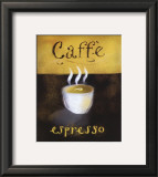 Caffe Espresso Print by Anthony Morrow