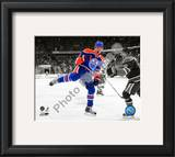 Taylor Hall 2010-11 Spotlight Action Framed Photographic Print