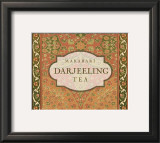 Darjeeling Tea Print by Paula Scaletta