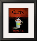 Caffe Mocha Poster by Anthony Morrow