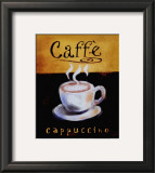 Caffe Cappuccino Prints by Anthony Morrow