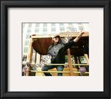 Tim Lincecum 2010 World Series Parade Framed Photographic Print