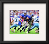 Brandon Jacobs 2010 Action Framed Photographic Print