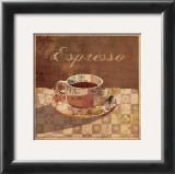 Espresso Print by Linda Maron