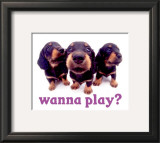 Wanna Play Poster
