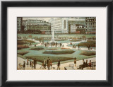 Piccadilly Gardens Posters by Laurence Stephen Lowry