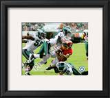 Asante Samuel 2010 Action Framed Photographic Print