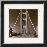 The Golden Gate Bridge, Summer Morning Print
