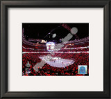United Center Game Two of the 2010 NHL Stanley Cup Finals Framed Photographic Print