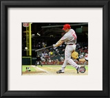 Jay Bruce 2010 Action Framed Photographic Print