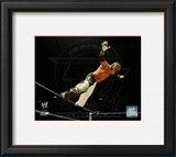 Rey Mysterio 2010 Spotlight Action Framed Photographic Print
