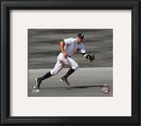 Alex Rodriguez 2010 Spotlight Action Framed Photographic Print