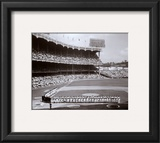Yankee Stadium Left Field - 1955 World Series Opening Game Framed Photographic Print