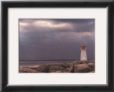 Lighthouse, Nova Scotia Posters by Art Wolfe