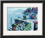 Lago Como Art by Howard Behrens