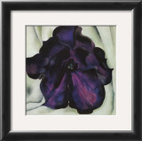 Purple Petunia Art by Georgia O&#39;Keeffe