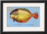 Winter Flounder Prints by John Golden