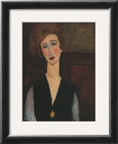Portrait of a Woman, c.1918 Posters by Amedeo Modigliani