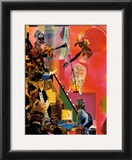 The Blues Print by Romare Bearden