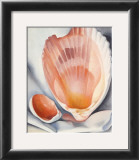 Two Pink Shells, 1937 Poster by Georgia O'Keeffe