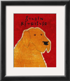 Golden Retriever Art by John Golden